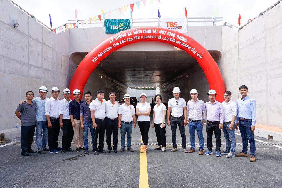 Lễ thông xe hầm chui tại nút giao thông kết nối Trung tâm kho vận TBS Logistics và đường Mỹ Phước – Tân Vạn